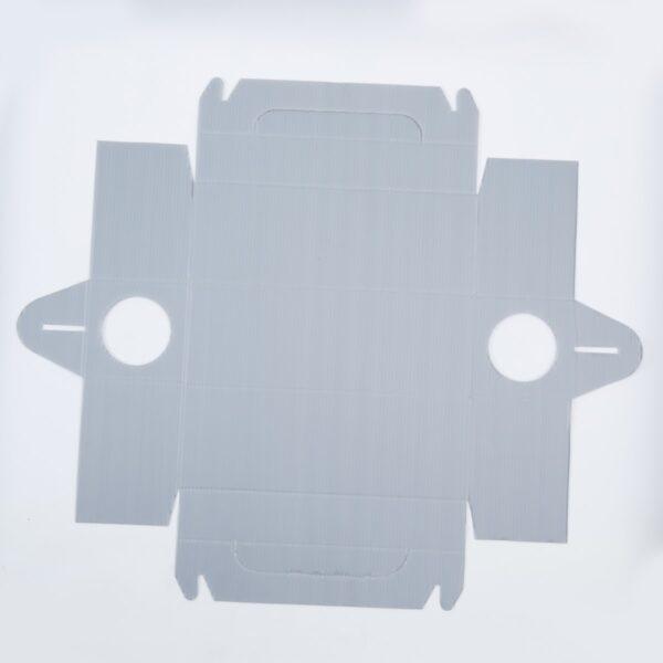 разглобена бяла Дератизационна кутия