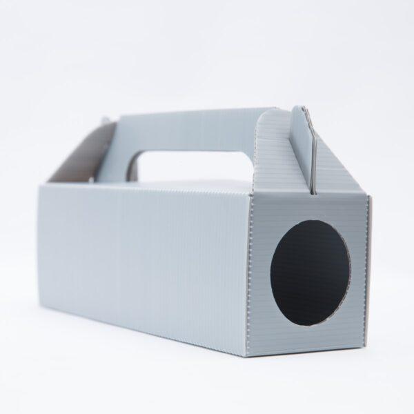 бяла Дератизационна кутия за капани срещу гризачи