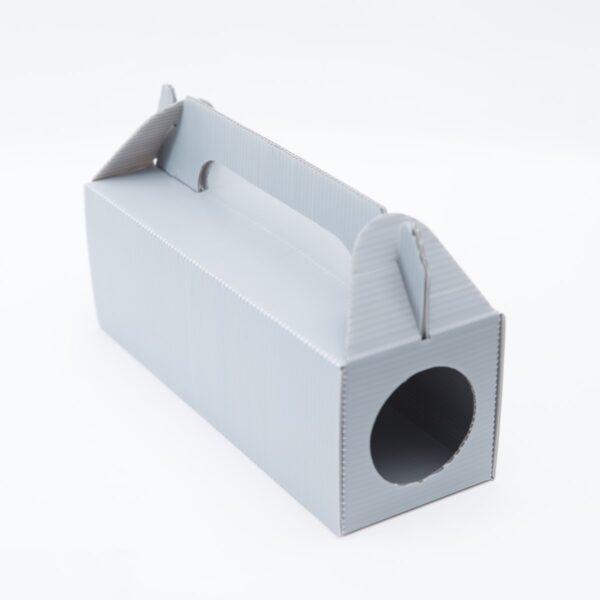 бяла дератизационната кутия за примамки